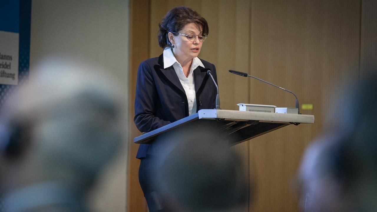 Выступление Ольги Мартенс на Образовательной конференции